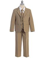 Выпускной однотонный  костюм с галстуком на мальчика 2-18 лет(3 цвета)