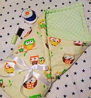 Детское одеяло конверт для новорожденного