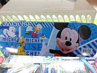 Пенал школьный пластиковый  Микки Маус