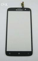 Сенсорный экран (тачскрин) Lenovo A850 белый черны