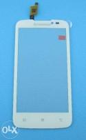 Сенсорный экран (тачскрин) Lenovo A516 белый черны