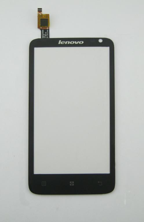 Сенсорный экран (тачскрин) Lenovo S720 белый черны