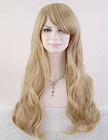 Парик длинные волосы Блонд жемчужный