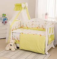 Сменная постель в детскую кроватку Twins Comfort С-022 Горошки