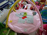 Коврик развивающий детский Слоник с дугами