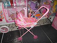 Коляска кукольная легкая