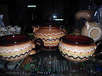 Набор для чая ЧАЙНИК + 2 ЧАШКИ