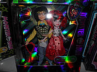 Кукла монстр хай и Кен 2 шт в наборе