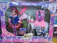 Кукла винкс с лошадкой