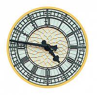 """Сборная пазл-игрушка Часы """"Биг Бен"""" (с часовым мех.) Материал: картон + изолон"""