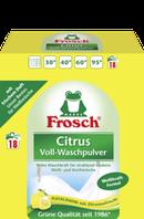 Фрош - концентрированный стиральный порошок с отбеливателем  Frosch Citrus 1.35 кг