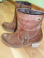 Фирменные ботинки Wrangler 100 % кожаные.