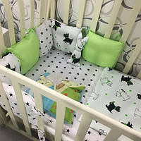 """Комплект белья для детской кроватки """"Little Dog"""""""