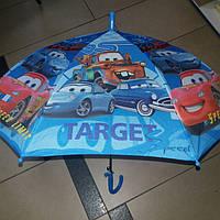 Зонт трость для мальчика тачки