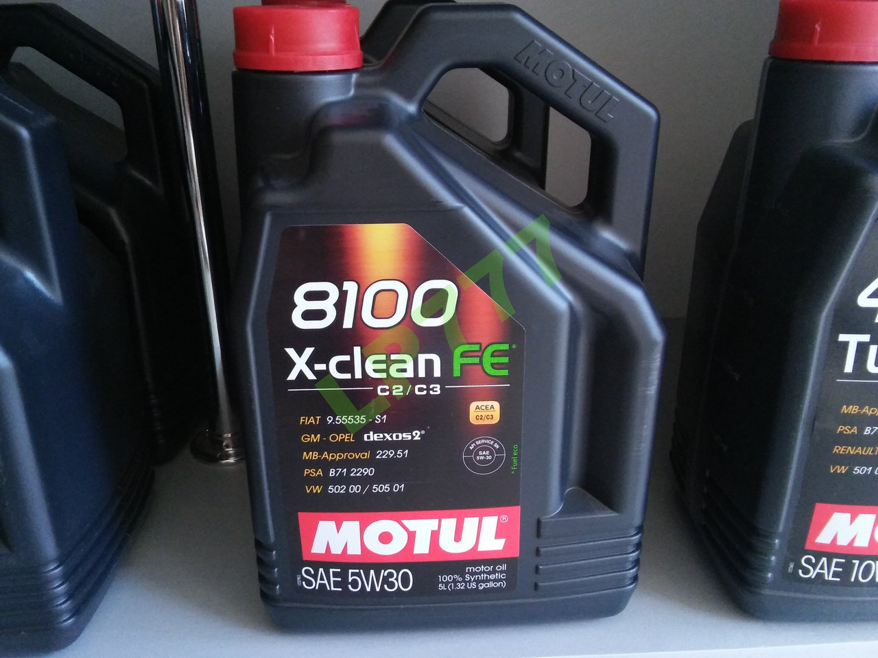 Motul 8100 X-clean FE 5W30 5л.