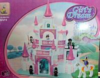 Конструктор Замок для девочки 508 деталей