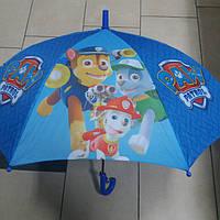 Зонт трость для мальчика Щенячий патруль