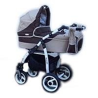 Универсальная коляска 2 в 1 Adbor Siesta 13 (beige - brown)