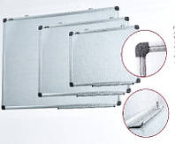 Доска сухостираемая магнитная Axent 60х90см. алюм.