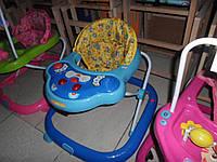 Детские ходунки новые разные с игрушками, музыка