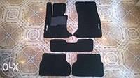 Велюровые коврики c лого Audi Q3 A6 A4 BMW 5 X5 X6