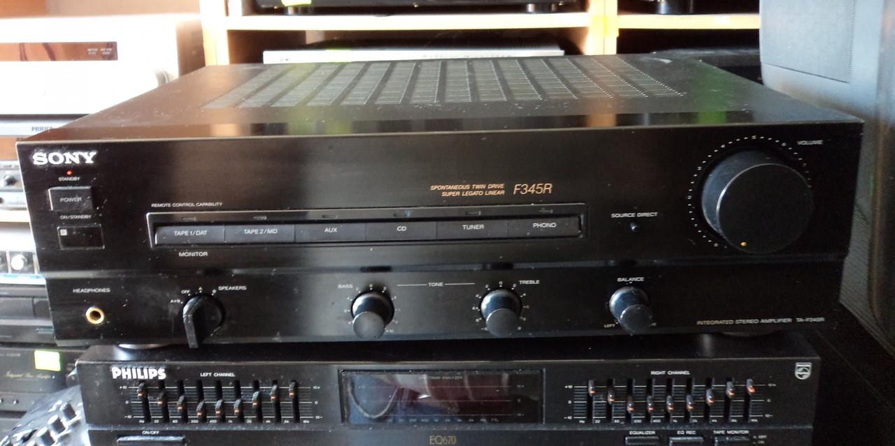 Підсилювач Sony TA-F345R