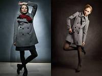 Эксклюзивное пальто кашемировое на двубортной застежке