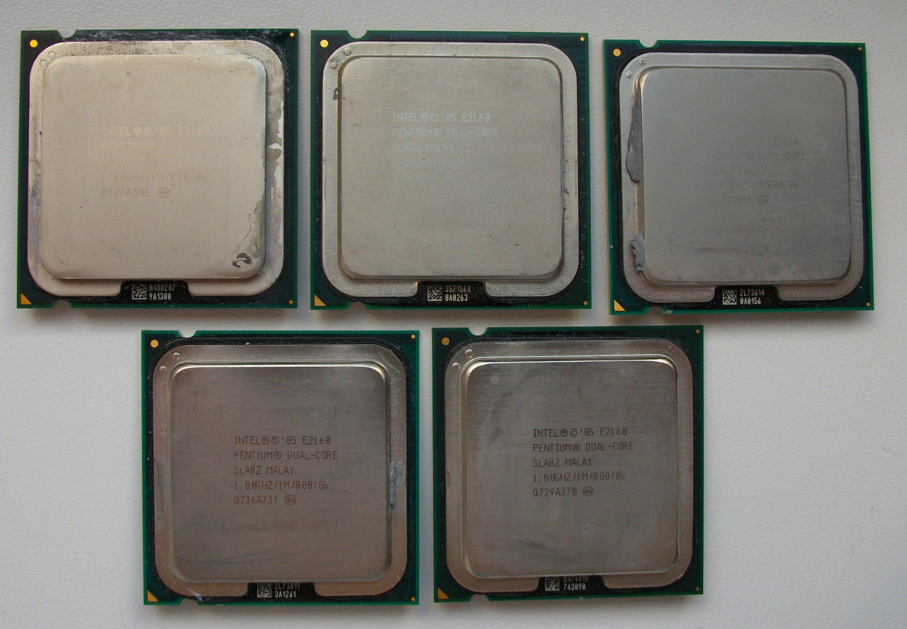 Intel Pentium Dual-Core E2160 (1.80 GHz,800 MHz)