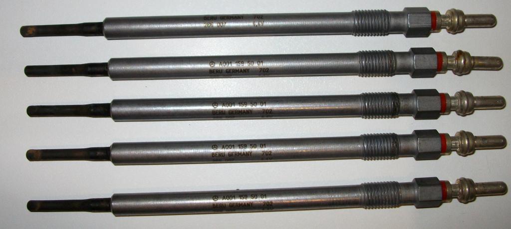 Свеча накаливания MERCEDES, A001 159 50 01