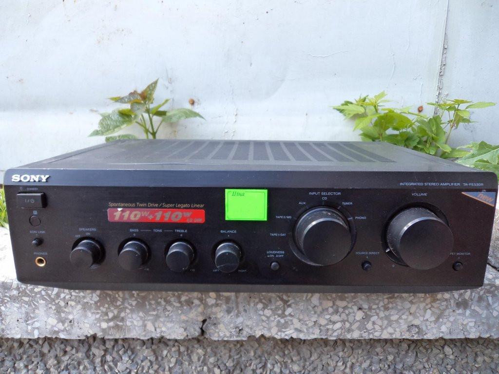 Підсилювач  Sony TA-FE 530R