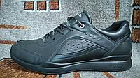 Кроссовки ECCO BIOM motion туфли натуральная кожа яка черные