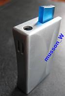 Металлическая зажигалка с вогнутом корпусом