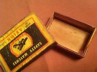 Спички коробок старинные от спичек 2