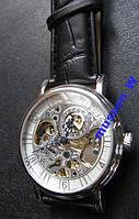 Наручные механические часы Goer белый СКЕЛЕТОН