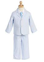 Нарядный костюм  в полоску с золотистыми пугавицами на мальчика 2-6лет