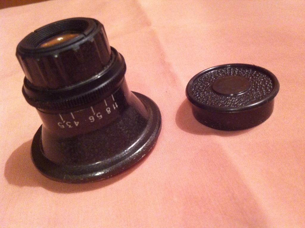 Оптика к фотоувеличителю ссср