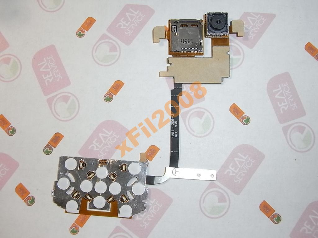 Шлейф Sony Ericsson W760 - верхний + камера ORIG