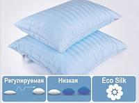 Подушка MirSon Valentino 60х60 EcoSilk антиаллергенная МЯГКАЯ 118