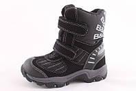 Детские термо ботинки B&G р.29, 30 черные