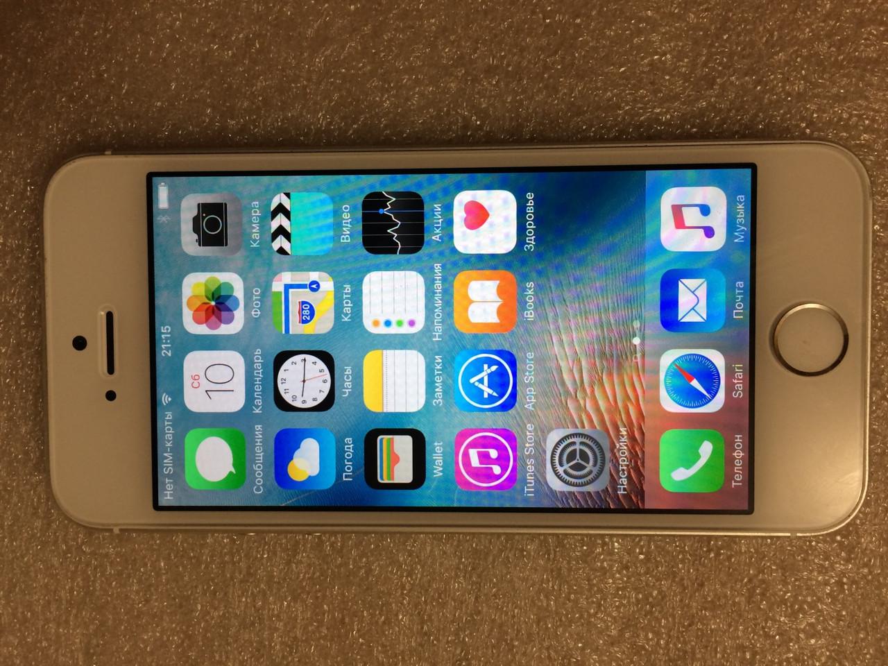 Apple iPhone 5s 16Gb White-Silver Оригінал із США