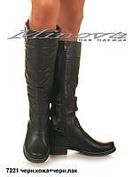 Женские высокие сапоги на каблуках теплая цигейка 36-41