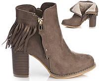 Женские ботинки  BLACK KHAKI