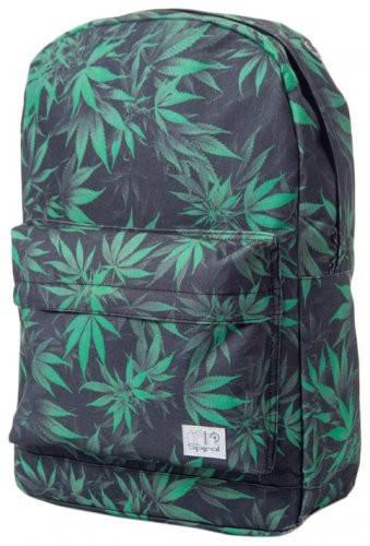 Неординарный рюкзак 18 л. OG Spiral 1077 черно-зеленый