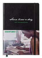 Записная Книжка Leuchtturm1917 Memory Book Some Lines A Day Книга Памяти Средняя Черный