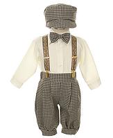 Стильный праздничный костюм на мальчика от 0 до 4 лет (7 цветов)