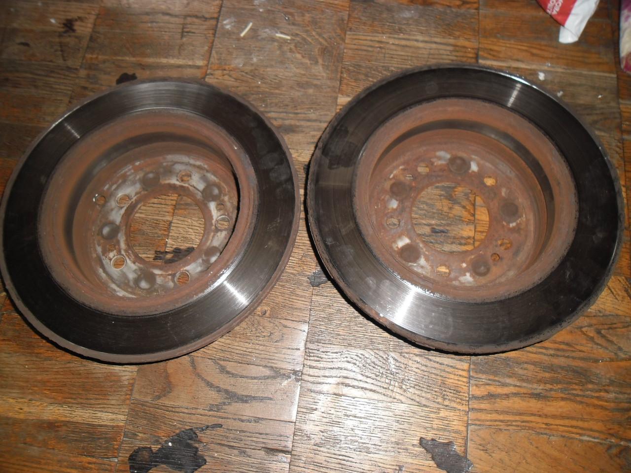 Тормозные диски KIA 58411