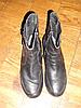 Полусапоги 41 р. кожаные, демисезонные ботинки
