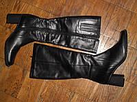 Сапоги 39р. кожаные