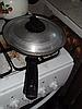 Сковорода алюминиевая 26,5 см. с крышкой