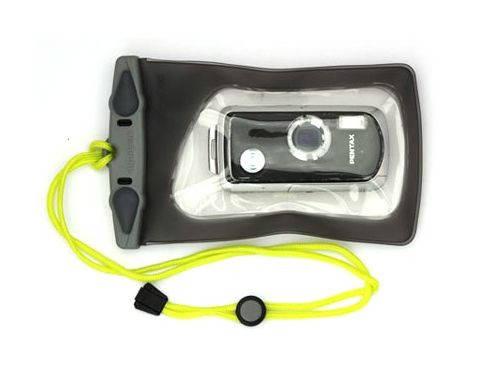 Водонепроницаемый чехол для фотоаппаратов Aquapac Mini Camera Case 2015 707398114080 прозрачный/черный